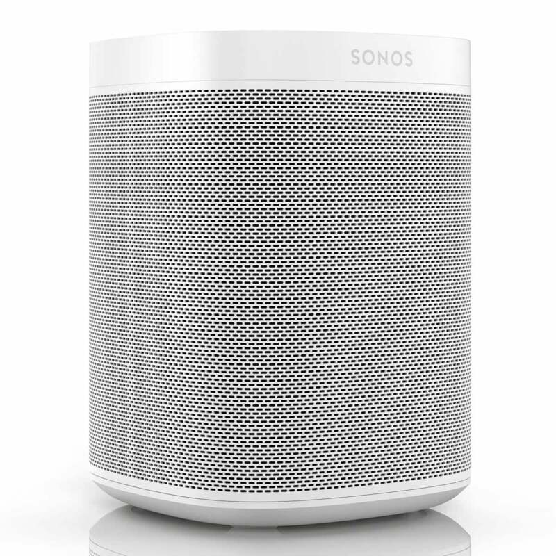 Sonos One SL Speaker for Stereo Pairing and Home Theater Surrounds