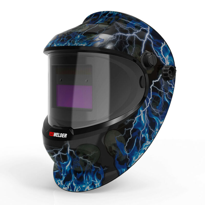 True Color Auto Darkening Welding Helmet/Mask/Hood for Mig Tig Arc