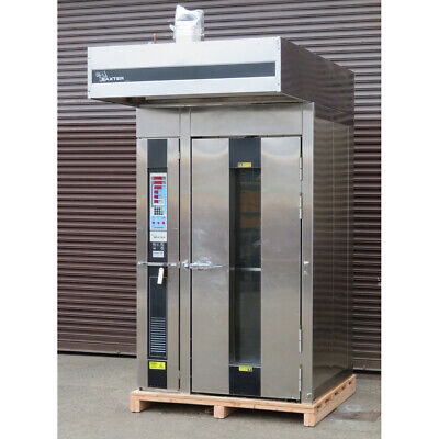 Baxter Ov210e-m1b Single Rack Electric Oven Used Excellent Condition