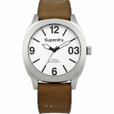 Superdry Thor Midi SYL116TW Women's Watch With Brown Leather Strap