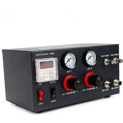 Auto Ab Glue Dispenser Solder Paste Digital Display Liquid Controller Dropper Ce