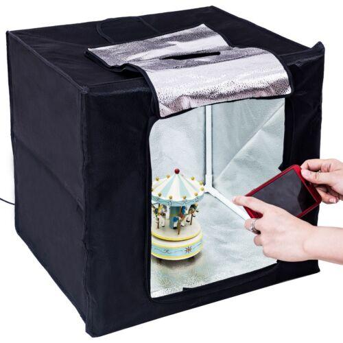 Foldable Cube LED Photo Studio Photography Lighting Tent Lig