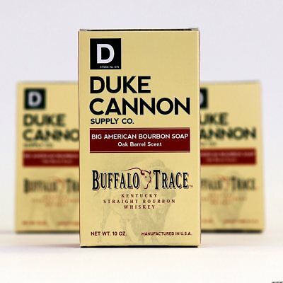 - Duke Cannon Old Milwaukee Beer &Buffalo Trace Bourbon Oak Barrel Bar Soap(1 bar)