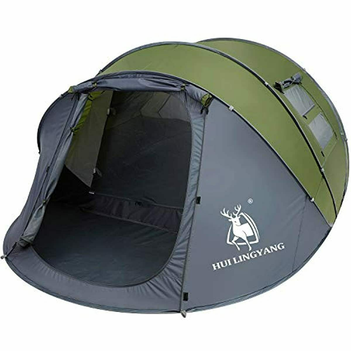 6 person easy pop up tent automatic