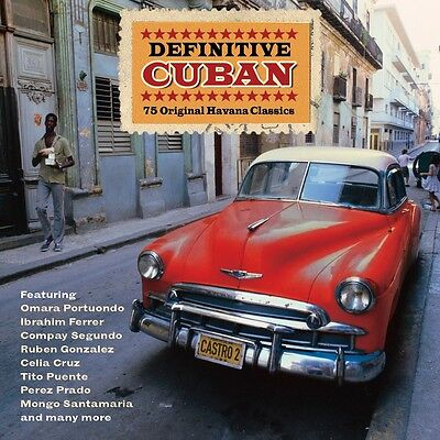 Definitive Cuban VARIOUS ARTISTS Best Of 75 Latin Songs MUSIC New Sealed 3