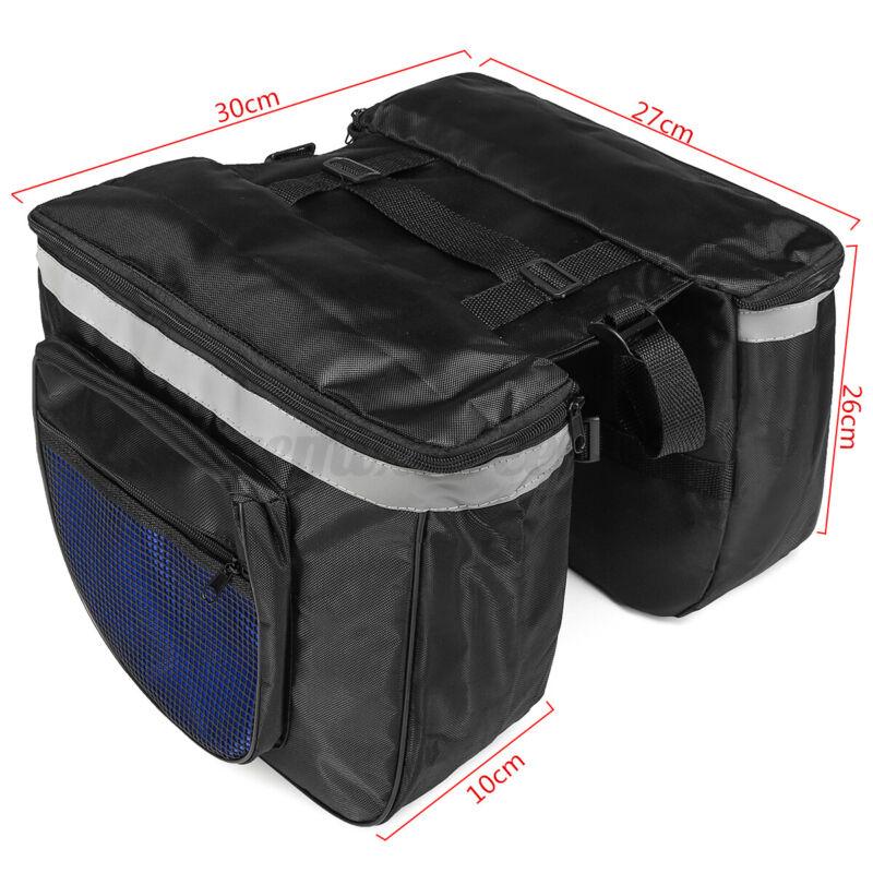 20L Bicycle Bike Rear Seat Saddle Bag Shoulder Handbag Cycling Storage  r