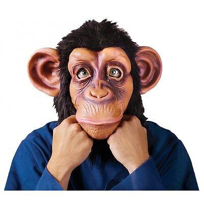 Chimp Mask Adult Chimpanzee Bruno Mars Monkey Halloween Costume Fancy Dress