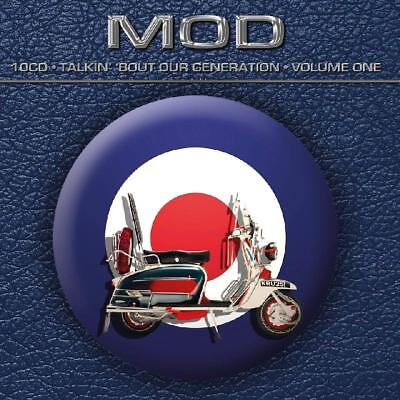 Mod • Talkin' 'Bout Our Generation • Volume One VARIOUS Best 250 Songs NEW 10 CD