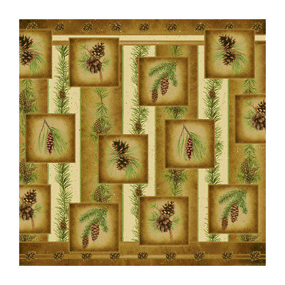 Pine Cone Shower Curtain (Pine Cone/Nature 70