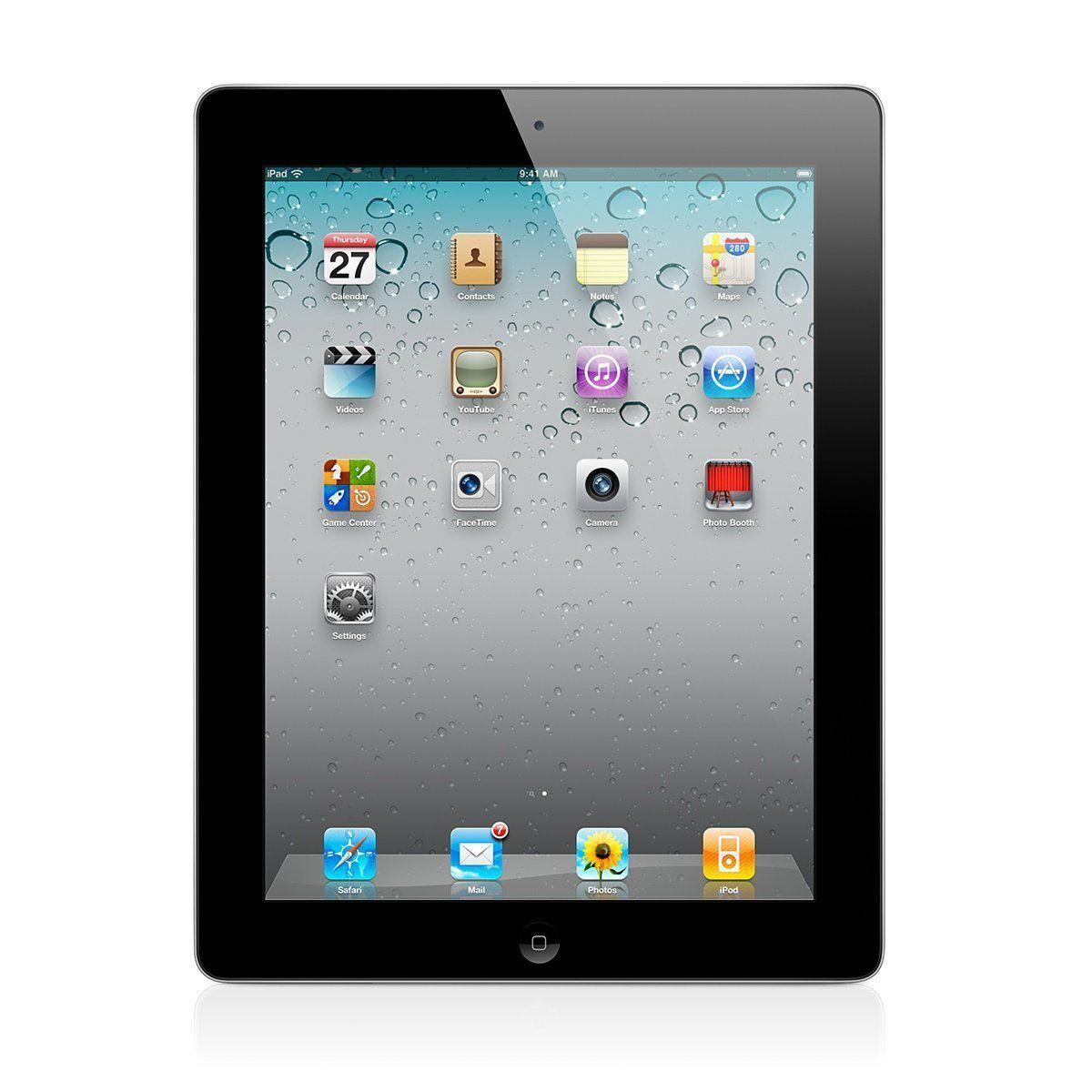 Apple iPad 2 16GB BLACK WIFI CLEAN