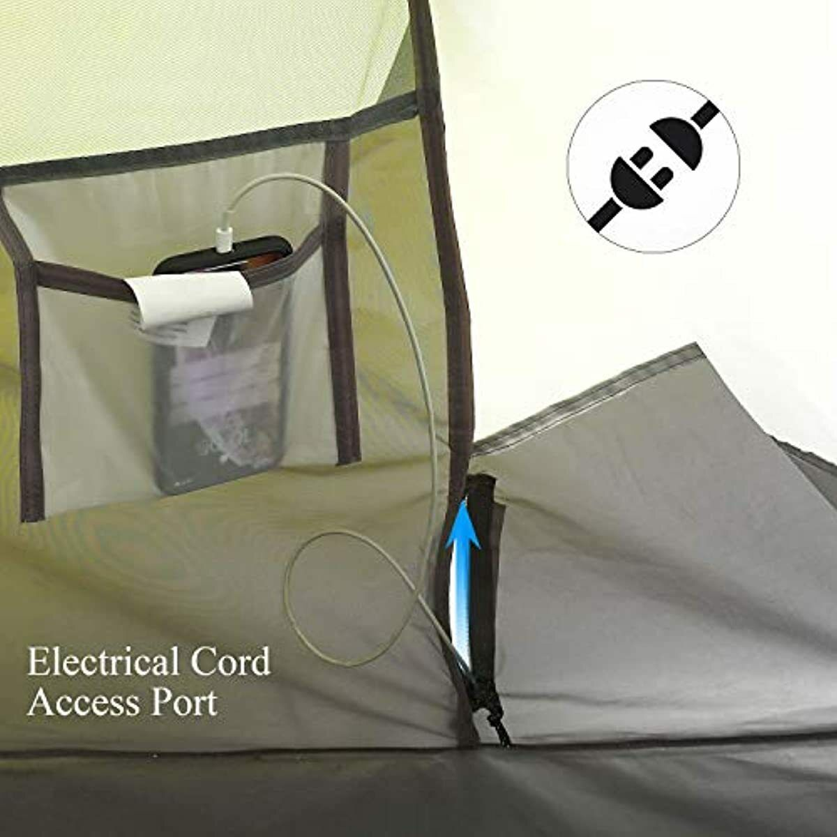 6 Person Up Tent-Automatic Layer Tents