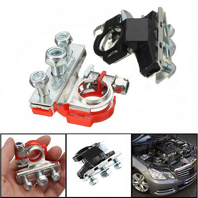 2 Pcs Leisure Battery Terminals Heavy Duty Car Cable Clamp Quick Connector uk