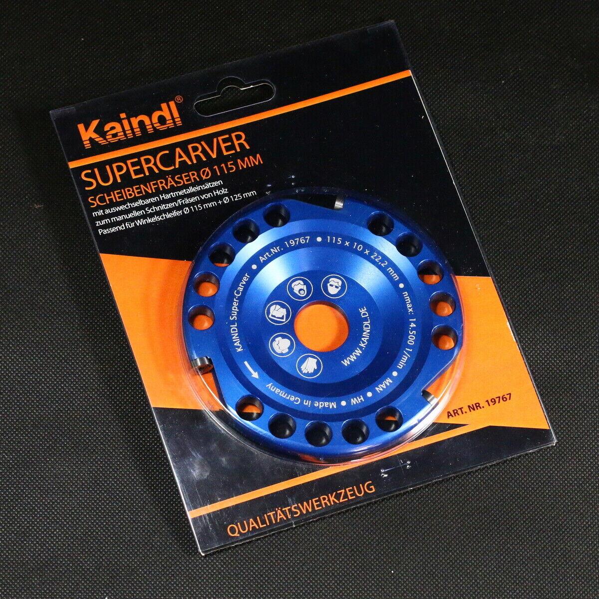 Kaindl Super Carver Holzschnitzfrässcheibe für Winkelschleifer