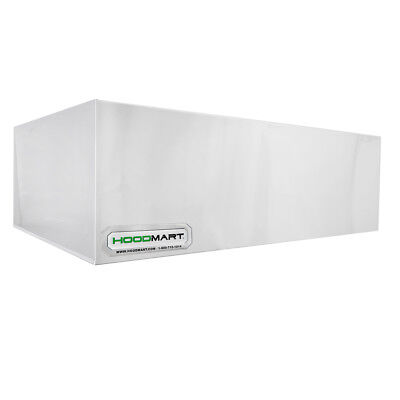 Hoodmart 6 X 48 Type 2 Commercial Kitchen Condensate Hood