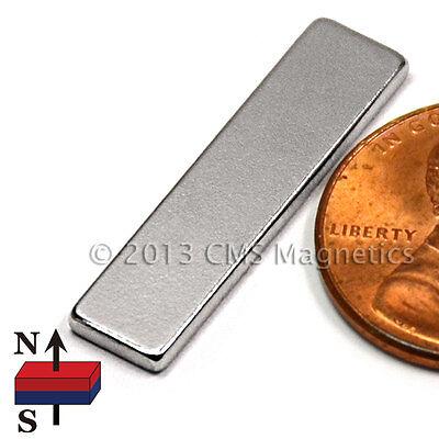 Cms Magnetics Strong N50 Neodymium Bar Magnet 1x 14x 116 15-pc