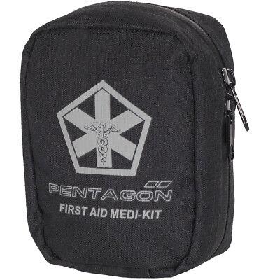 Pentagon Hippokrates Eerste Hulp Kit Tactische Leger Politie Carry Bag Zwart