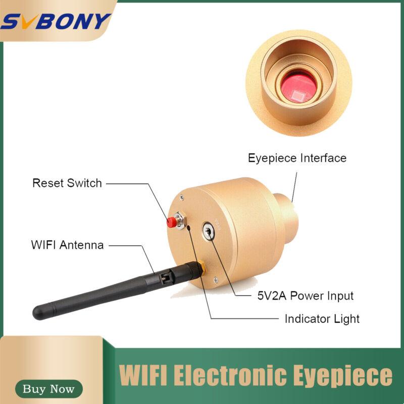 1.25Inch Webcam 2.0MP WIFI Electronic Eyepiece CMOS Telescope Camera Ocular Lens