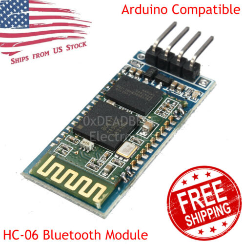 HC-06 Bluetooth Wireless RF Receiver Module Slave Mode TTL/RS232 for Arduino