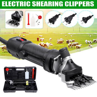 220v Sheep Goat Shears Electric Farm Supplies Animal Shearing Grooming Clipper