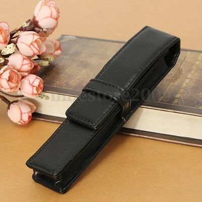 Fountain Pen Leather Case Pouch Holder Storage Bag For One Single Pen Gift