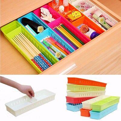 Cabinet Drawer Cutlery Organizer Storage Box Flatware Container Kitchen Utensil