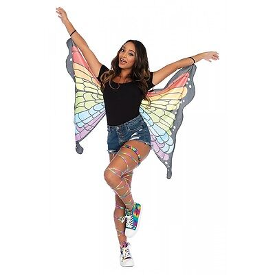 Butterfly Wings Costume Adult Women Teen Tween Girls Halloween Fancy Dress