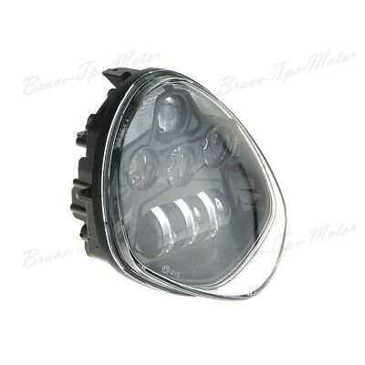 Black For Victory CrossCountry Cree LED Headlight Assemblies H/L Beam 40W DRL BT