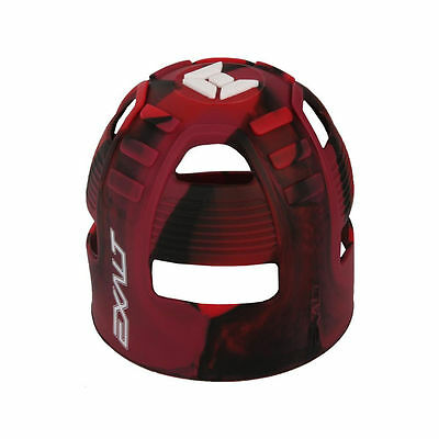 Exalt Paintball Tank Grip Cover Fits 45-88ci Red/Black/White - Dye - Ninja