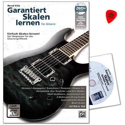 Garantiert Skalen Lernen - für Gitarre / Tabulatur - 20237G - 9783943638721