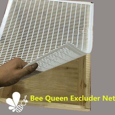 10 Frame Bee Queen Excluder Trapping Net Grid Beekeeping Honey Tool Equipment