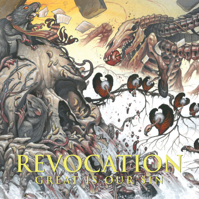 REVOCATION - Great is our Sin CD, NEU