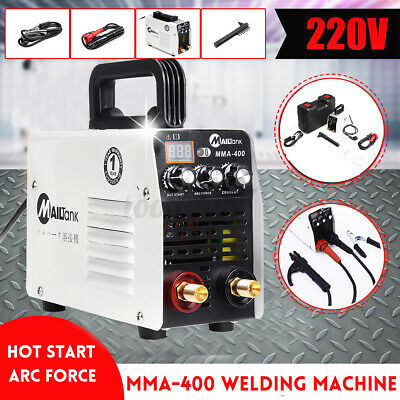 Electric Welding Machine Kit Igbt Hot Start Stick Welder Inverter 220v Mma