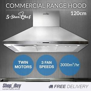 Free Delivery: Commercial Rangehood Stainless Kitchen Canopy BBQ Homebush Strathfield Area Preview