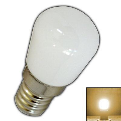 E14 mini LED 1,5 Watt matt Milchglas warmweiß Birne Glas Leuchtmittel Glühbirne - Milchglas Led Birne