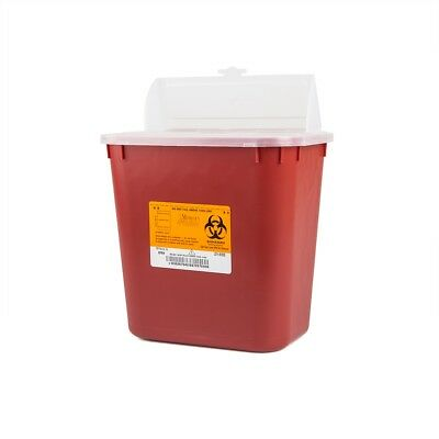 8 Sharps 2 Gallon Container 2gl Sharp Doctor Tattoo Home Needle Disposal Deal