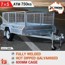 New Arrival 7×5 Full Welded Box Trailer with 600mm Cage by XTREME Fairfield East Fairfield Area Preview