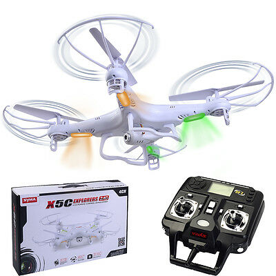 Syma X5C Explorers 2.4G 4CH  6-Axis Gyro RC Quadcopter HD Camera RTF Drone