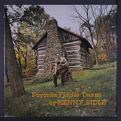 (KENNY SIDLE: Favorite Fiddle Tunes LP Sealed (ding at cover opening) Bluegrass)