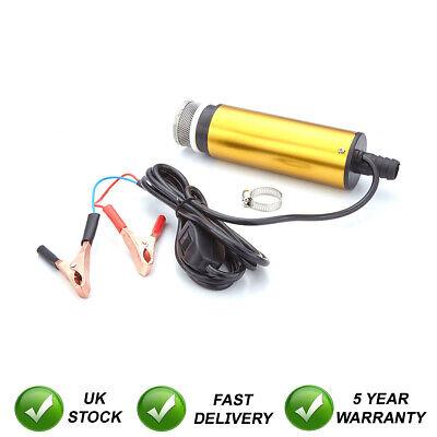 12V Combustible y Agua Diesel Bomba Transferencia / Filtro Sumergible Portátil