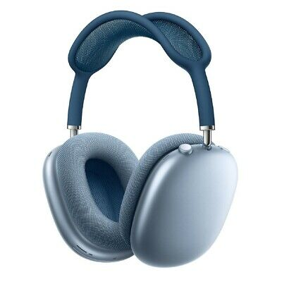 ¡NUEVO! Apple AirPods Max Precintado Garantía Oficial- Sky Blue con diadema azul