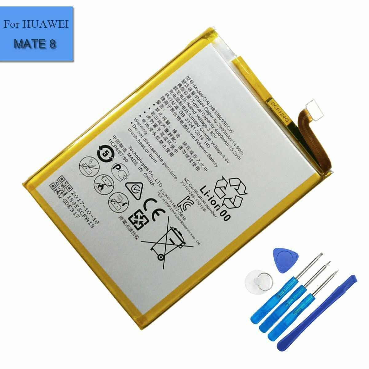 New HB396693ECW Battery For HUAWEI MATE 8 NXT-AL10 NXT-CL00 NXT-L09 NXT-L29 Tool - $11.99