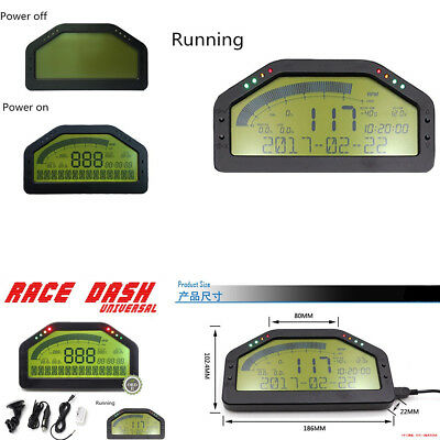OBD2 Bluetooth, Dashboard LCD Screen; Gauge Rally Motec AIM - Dash Race Display