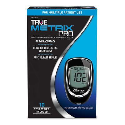 True Metrix Blood Glucose Monitoring System Complete Kit Includes 10 Test Strips