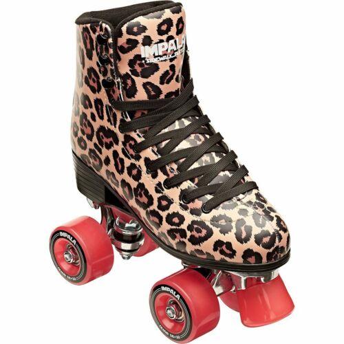 Impala - Quad Roller Skates | Vegan - Womens | Leopard - Size: 10