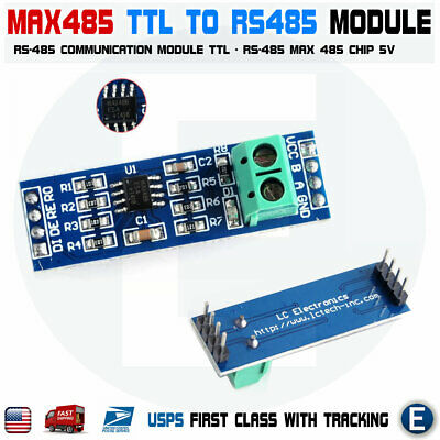 Max485 Rs-485 Converter Ttl To Rs-485 Module For Arduino Raspberry Pi Usa
