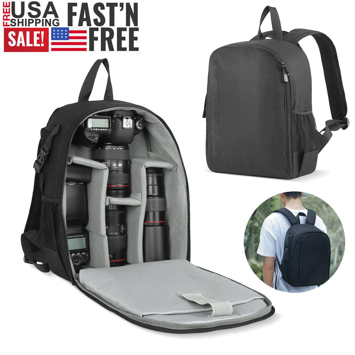Waterproof Sling Camera Bag Backpack For Canon Sony Nikon Ol