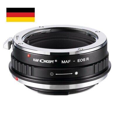 K&F Concept Adaptador Pentax K Lentes Sobre Canon EOS R PK-EOS R