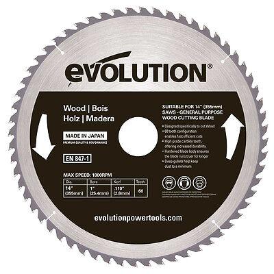 Evolution 14 Wood Blade 14bladewd