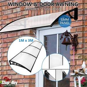 Free Delivery: DIY Window Door Awning Outdoor Sun Shield Canopy Moorebank Liverpool Area Preview