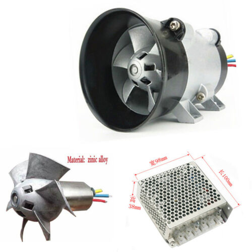 12V 16.5A Car Electric Turbo Charger Bold Line w/ Automatic Controller